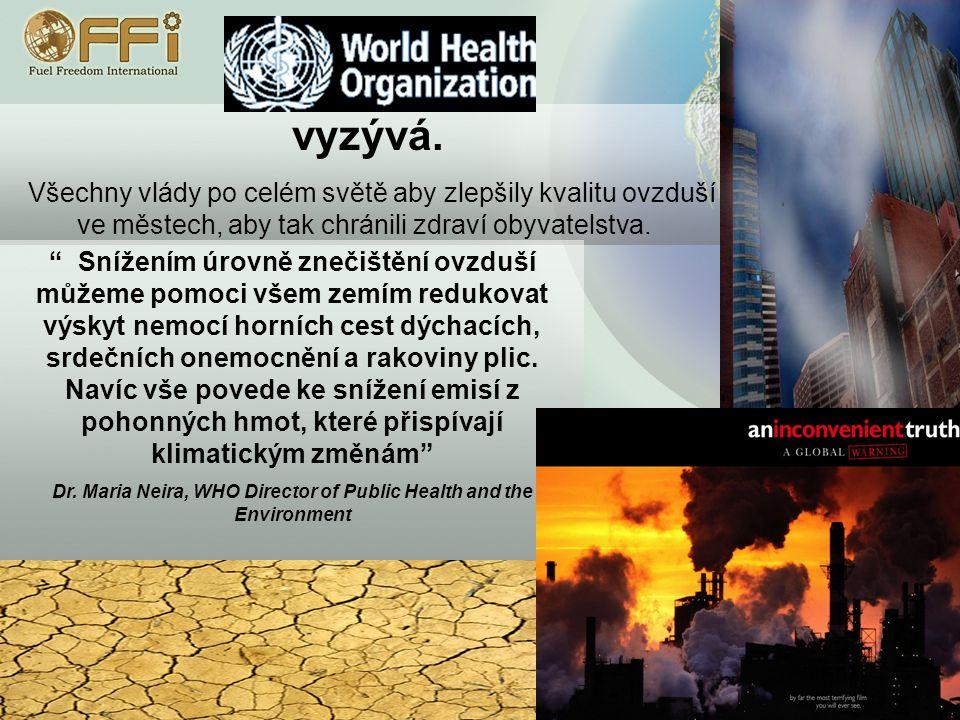 Oxidy Dusíku (NOx): Jsou obsaženy v emisích automobilů a v atmosféře se podílejí na rozkladu ozonu.
