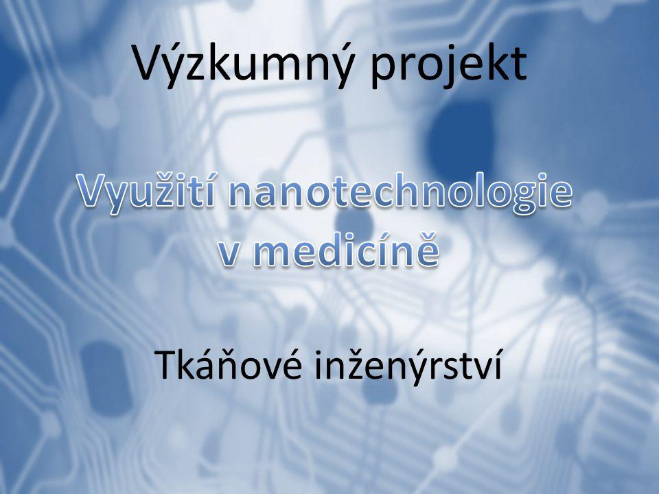 Nanomedicína – hudba budoucnosti Nanomedicína – založena na třech vzájemně se překrývajících a rozvíjejících molekulárních technologiích: 1.Nanostrukturní materiály a zařízení, které se jeví velmi slibné ve zlepšování funkce diagnostických biosenzorů, cílené distribuce léčiv a ve vývoji léků.