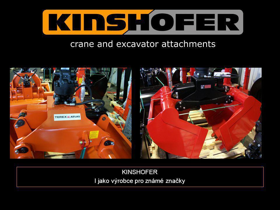 KINSHOFER I jako výrobce pro známé značky