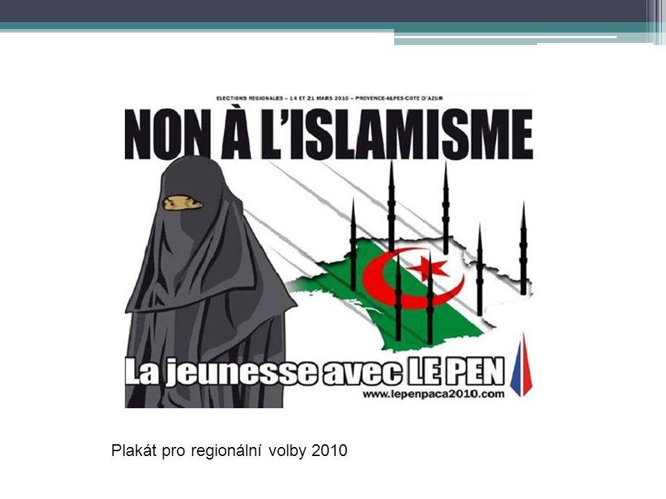 Plakát pro regionální volby 2010