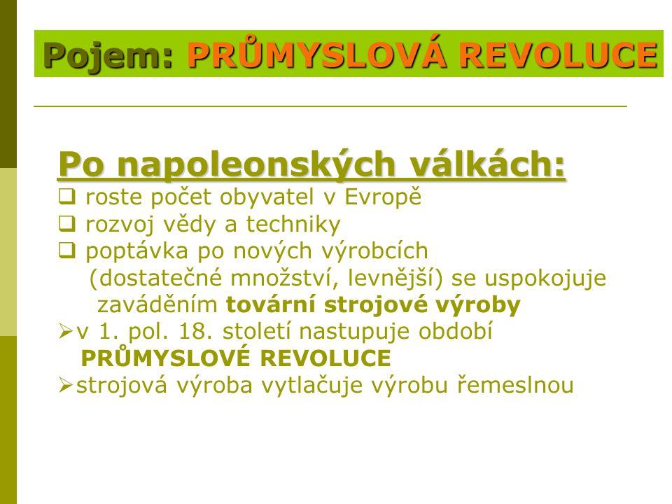 Dvě fáze průmyslové revoluce 1.fáze 1. fáze (pol.