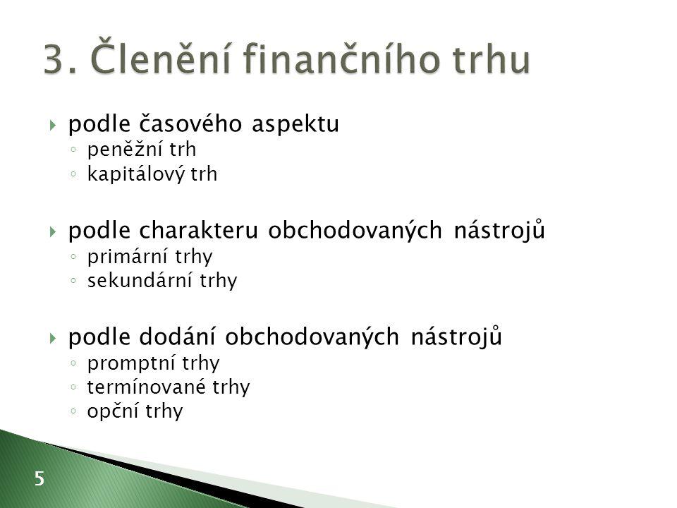  právnická osoba, která poskytuje investiční služby na základě povolení České národní banky  investiční služby A.hlavní B.doplňkové 26