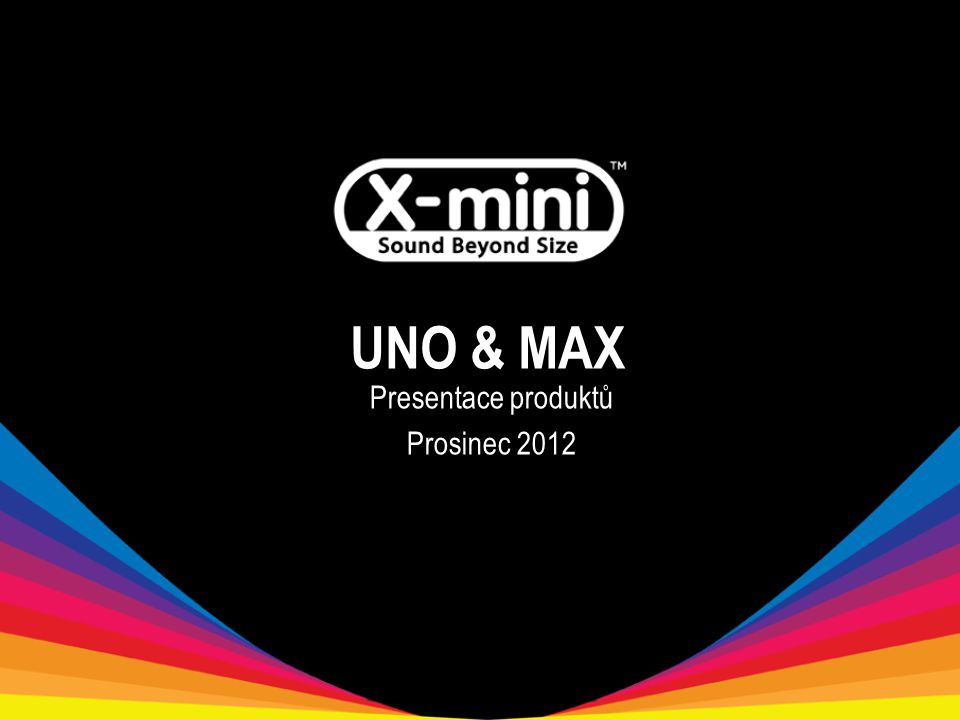 UNO & MAX Presentace produktů Prosinec 2012