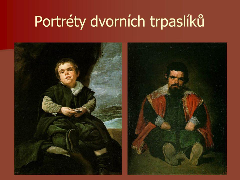 Portréty dvorních trpaslíků