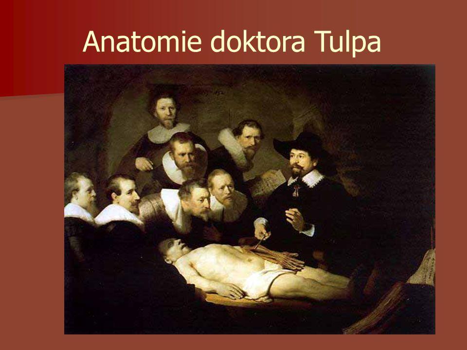 Anatomie doktora Tulpa