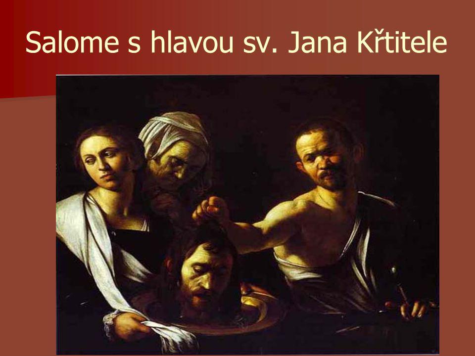 Salome s hlavou sv. Jana Křtitele