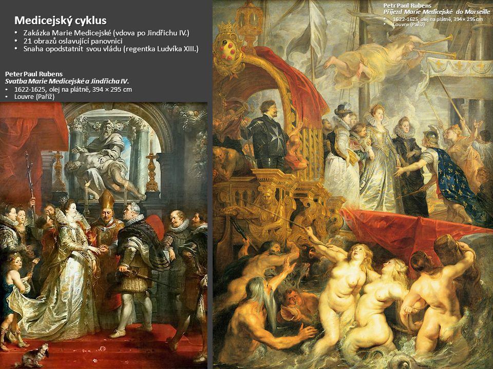 Petr Paul Rubens Tři Grácie 1630-1635 1630-1635 Olej na plátně, 220 × 182 cm Olej na plátně, 220 × 182 cm Prado (Madrid) Prado (Madrid)
