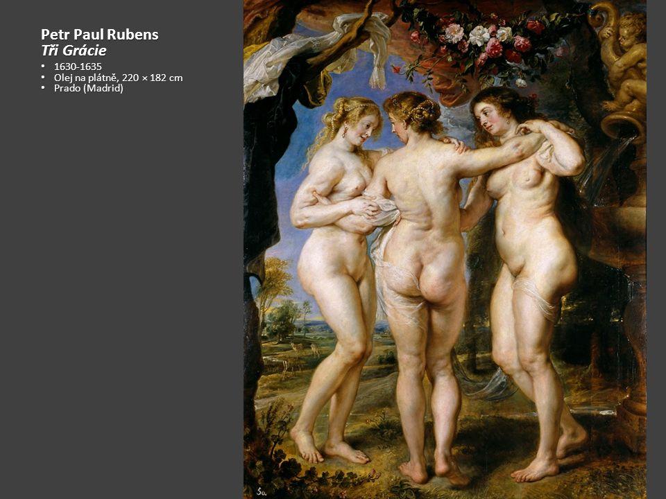 Peter Paul Rubens Opilý Silén 1618-1626 1618-1626 Olej na dřevě Olej na dřevě 205 x 2011 cm 205 x 2011 cm Alte Pinakothek (Mnichov) Alte Pinakothek (Mnichov) Silén – veselý opilý stařec z řecké mytologie Silén – veselý opilý stařec z řecké mytologie