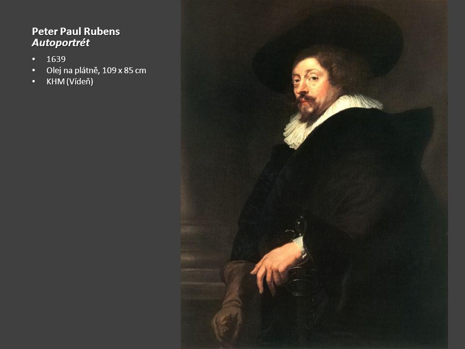 Petr Paul Rubens Portrét s Isabelou Brantovou Cca 1609 Olej na plátně, 178 × 136 cm Alte Pinakothek (Mnichov) Výraz sounáležitosti – růže z Jericha Sebeprezentace jako šlechtice Intimita ve spojení s reprezentací