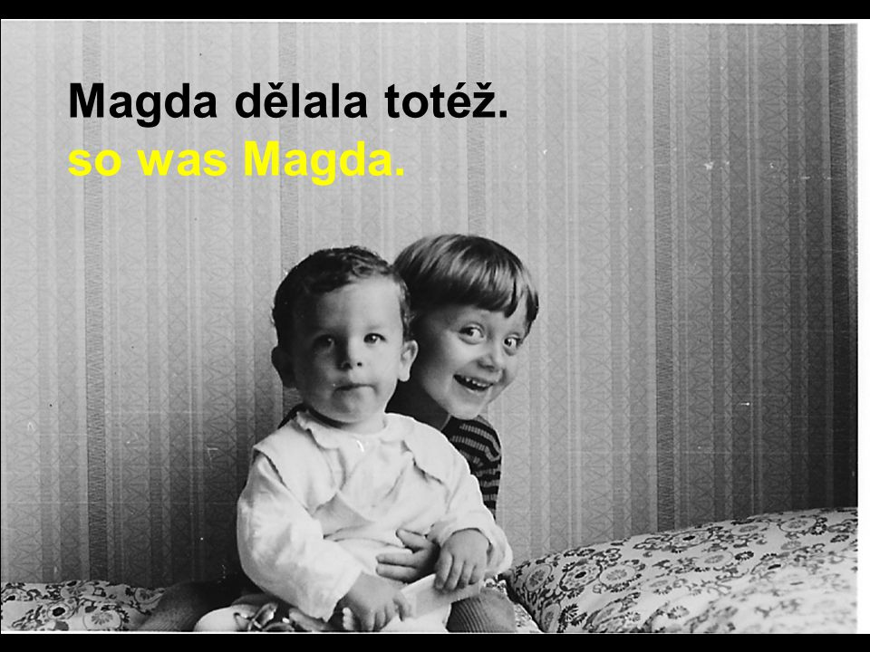Když se Petr staral o mladšího bratra, While Peter was looking after his younger brother,