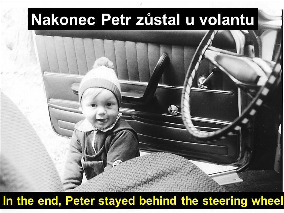 Magda už dávno brázdila pražskými ulicemi. Magda was already cruising Prague´s streets.
