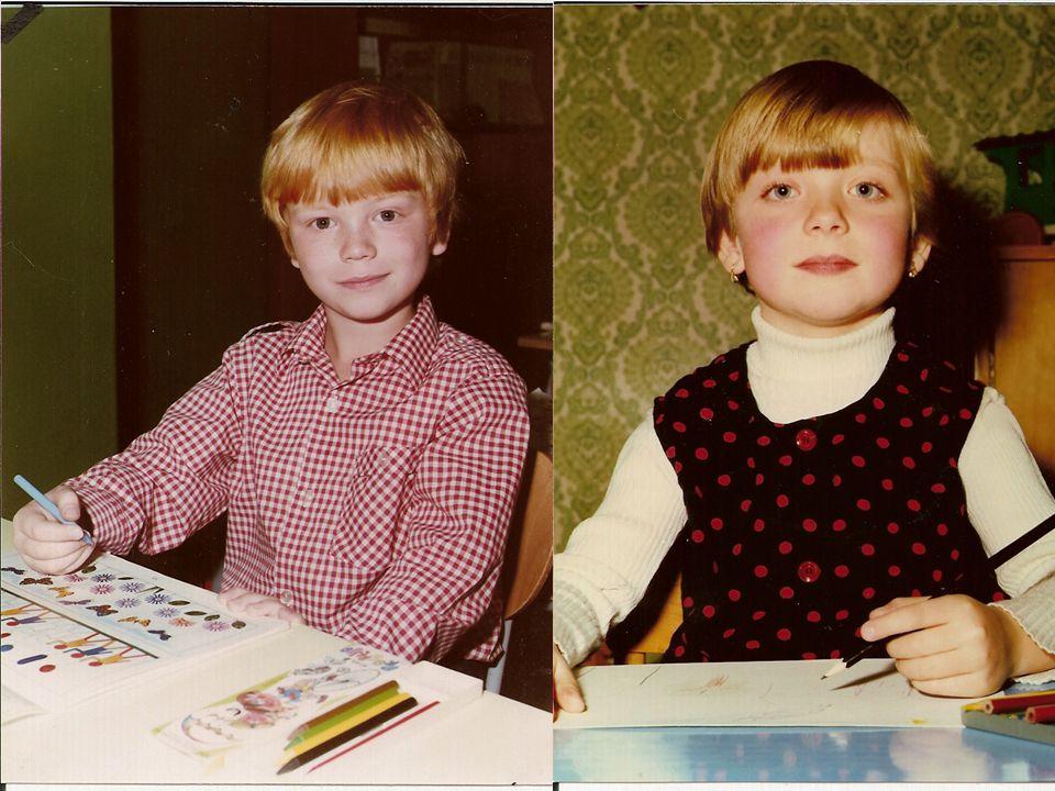 Podobnost na základní škole Později na základní škole... Byla podobnost opravdu náhodná??? Later at primary school... Was the resemblance really rando