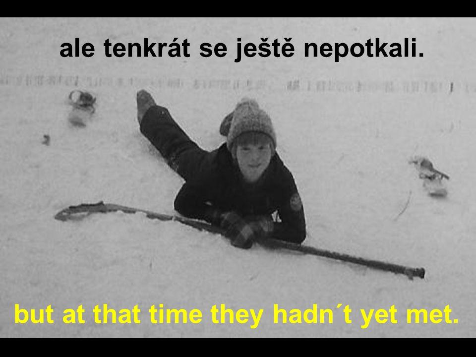 V ledním hokeji mohli být i soupeři They could have been rivals in ice hockey Magda