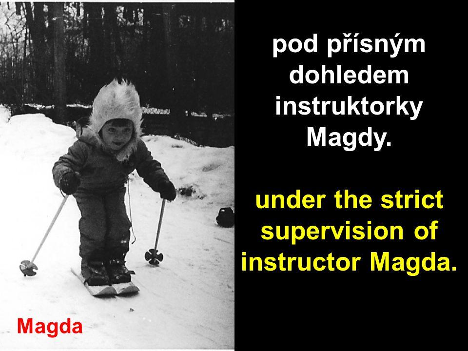 Petr propadá lyžování... Peter became addicted to skiing...
