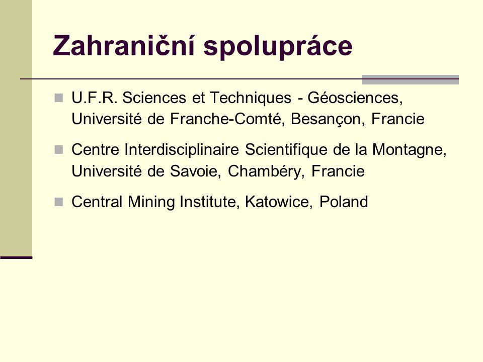 Zahraniční spolupráce U.F.R.