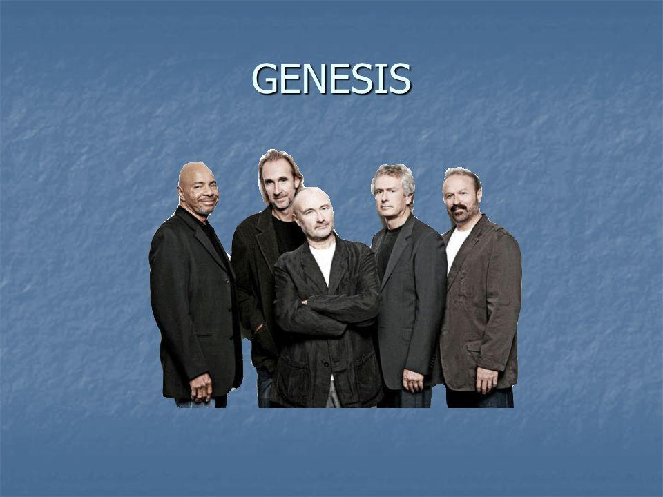 Historie Genesis je britská art-rocková skupina, vzniklá v roce 1967 ze školní skupiny The Garden Wall.