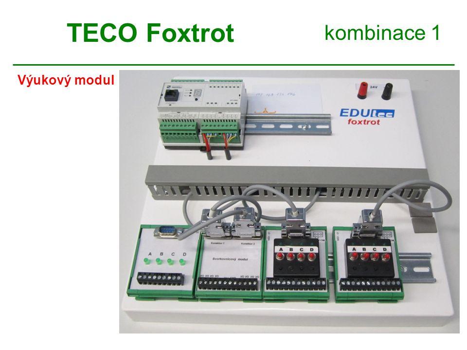 kombinace 1 Výukový modul TECO Foxtrot