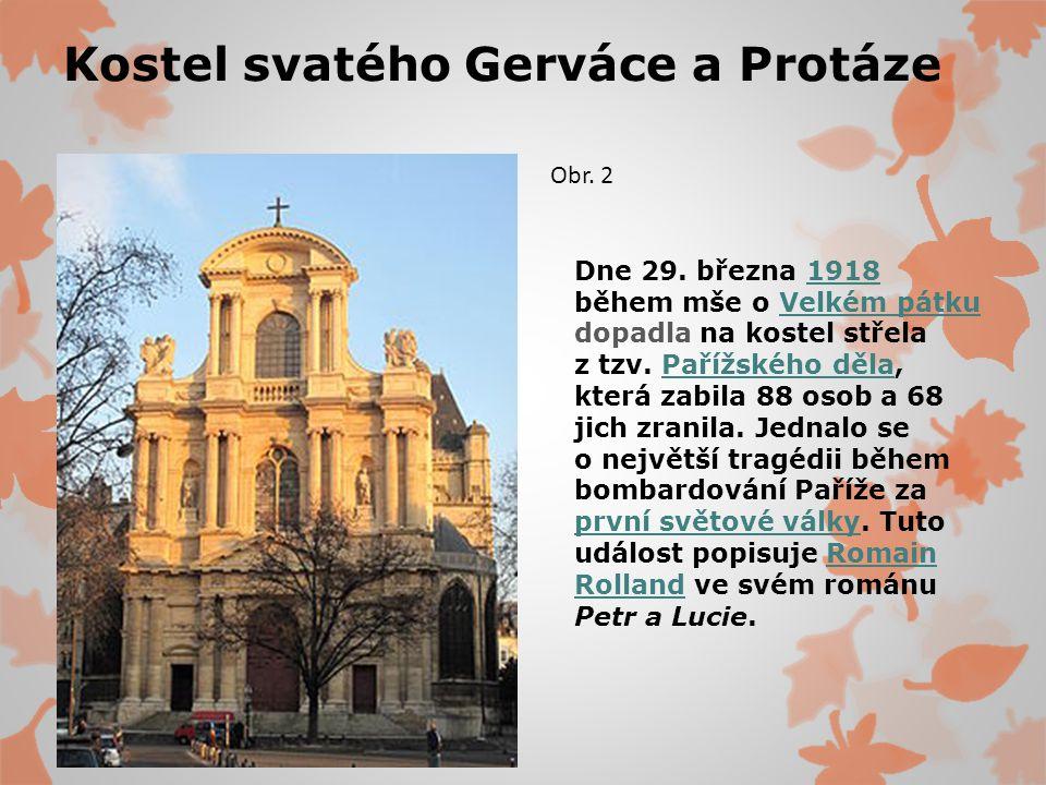 Kostel svatého Gerváce a Protáze Dne 29.