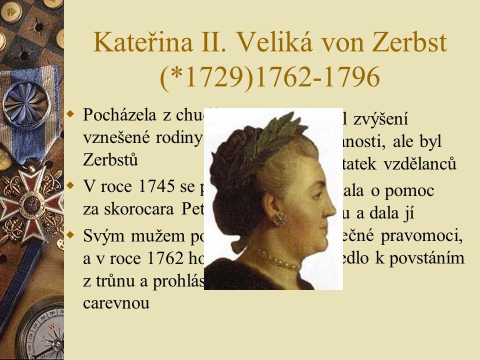 Zhodnocení vlády Petra I. Petr byl krutý, ale velmi úspěšný vládce Svého syna, který nesouhlasil s některými jeho pokroky dal uvěznit mučit a nakonec