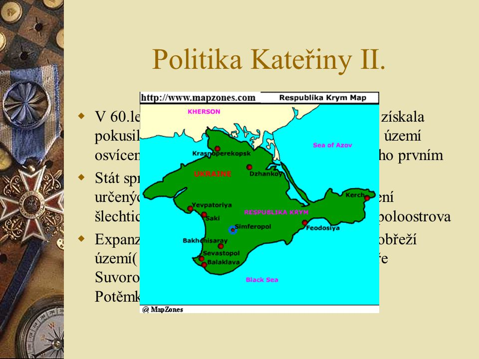 Pugačovo povstání  V letech 1773-1774  V čele Jemeljan Pugačov  Obsazení města Kazaň vzbouřenci (slibování zrušení nevolnictví, daní a vojenské slu