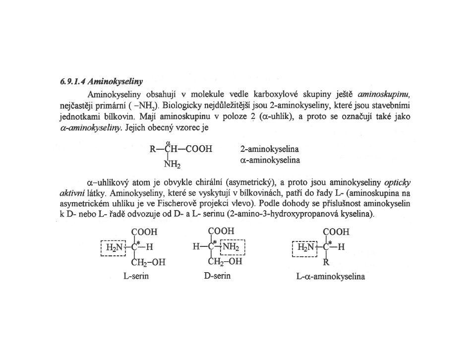 Výskyt GAG Hyaluronová kyselina - mezi GAG unikátní, neobsahuje sulfát - nekovalentně se váže s komplexem proteoglykanů - obrovské polymery, které váží velké množství vody Dermatansulfát - kůže, cévy, srdeční chlopně Chondroitinsulfát - chrupavka, kost, srdeční chlopně Heparinsulfát - granula žírných buněk vyskytujících se kolem plicních artérií, játra a kůže Heparansulfát - bazální membrány, komponenty buněčných povrchů Keratansulfát - rohovka, kost, chrupavka