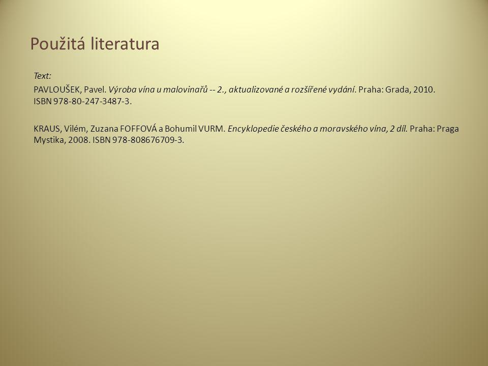 Text: PAVLOUŠEK, Pavel.Výroba vína u malovinařů -- 2., aktualizované a rozšířené vydání.