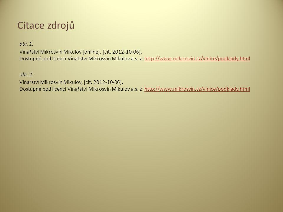 obr.1: Vinařství Mikrosvín Mikulov [online]. [cit.