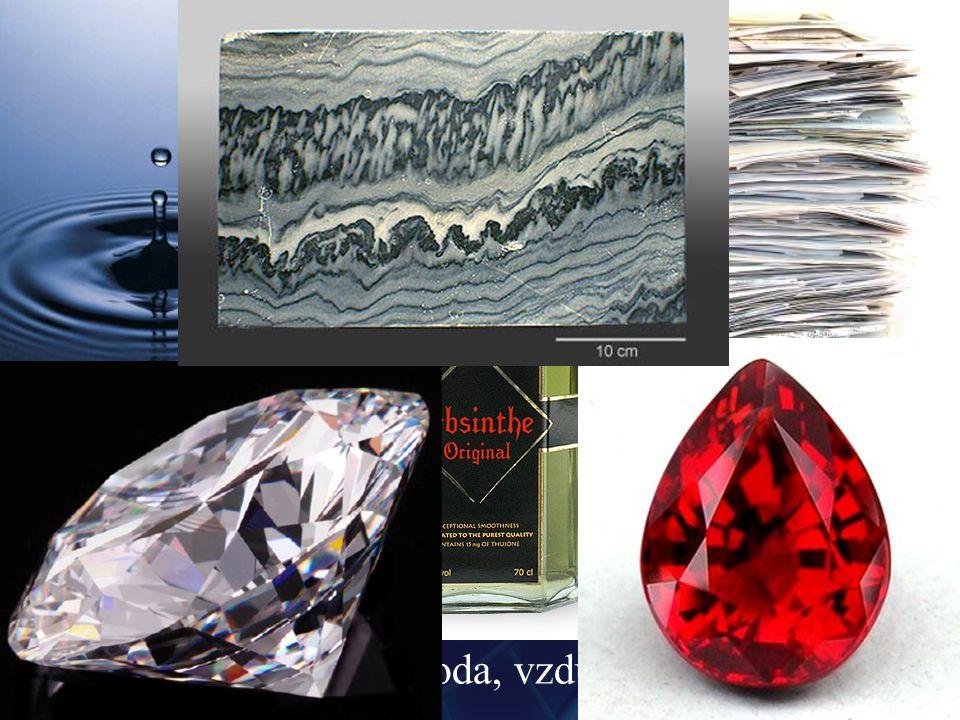 Dielektrika kolem nás aceton, amoniak, anilin, apatit, asfalt, bakelit, benzen, břidlice, butan, celofán, celulóza, cement, chloroform, cukr, diamant, dolomit, ebonit, formalín, fosgen, freon, hedvábí, jantar, kanadský balzám, kerosin, kokain, kyselina sírová, kys.