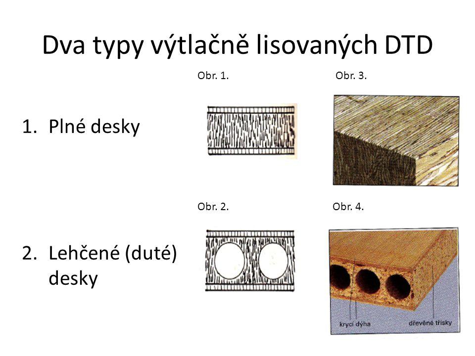 Použití výtlačně lisovaných DTD Pro výrobu protipožárních a bezpečnostních dveří.