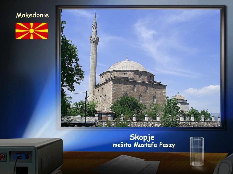 Skopje Makedonie kostel sv.Klementa