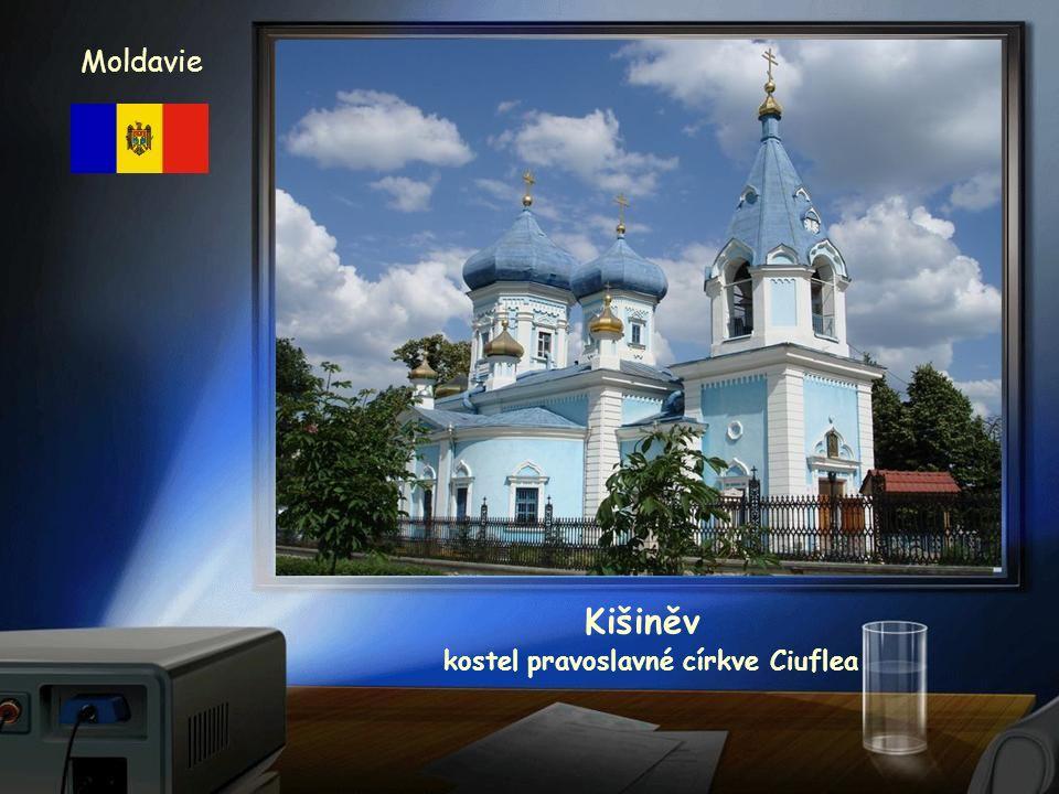 Kišiněv kostel Narození Páně Moldavie