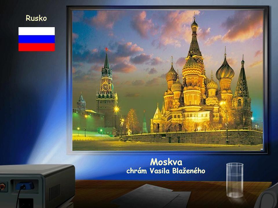 Rusko Moskva Rudé náměstí