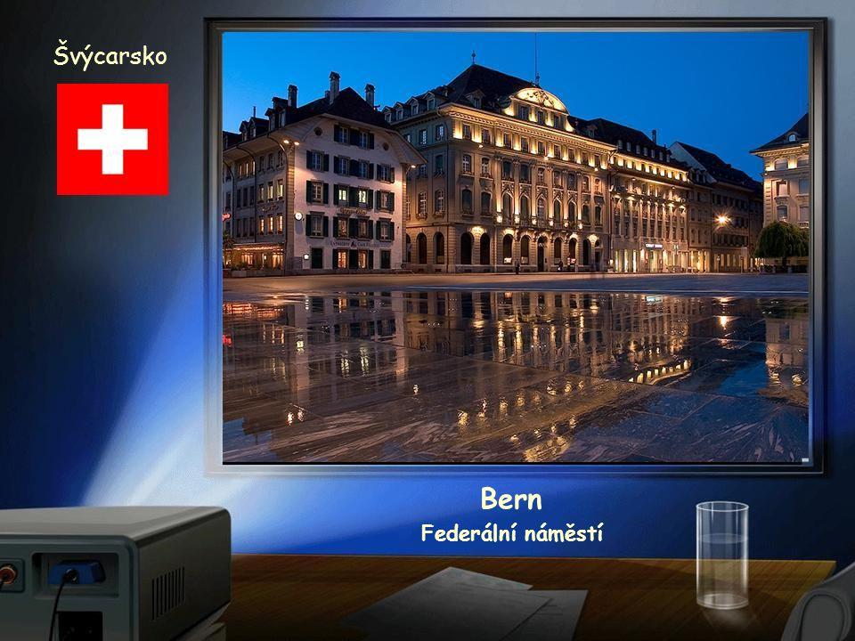 Švýcarsko Bern věžní hodiny z roku 1530