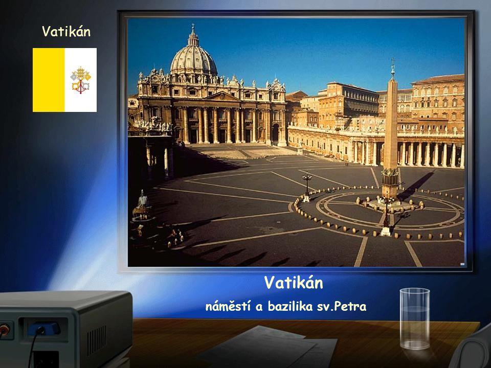 Vatikán náměstí sv.Petra