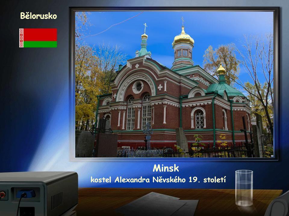 Bělorusko Minsk kostel sv.Šimona a Heleny