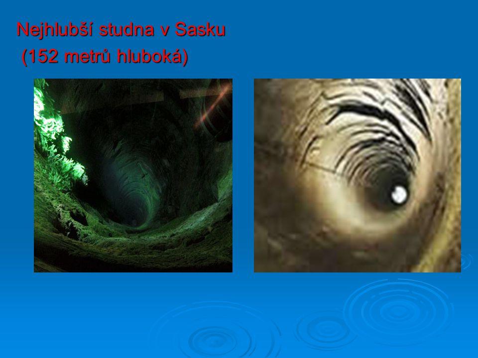 Nejhlubší studna v Sasku (152 metrů hluboká) (152 metrů hluboká)