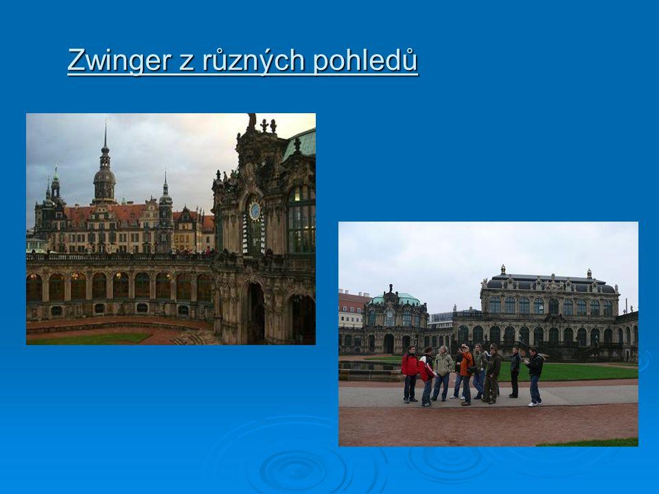 Zwinger z různých pohledů