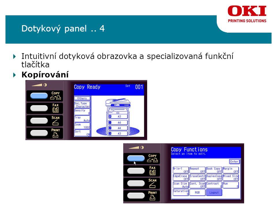 Instalace Správa MC860 je možná pomocí následujících nástrojů: 1.Aplikace Multi Setup Tool (Configutation Tool) 2.Webové rozhraní 3.Operační panel