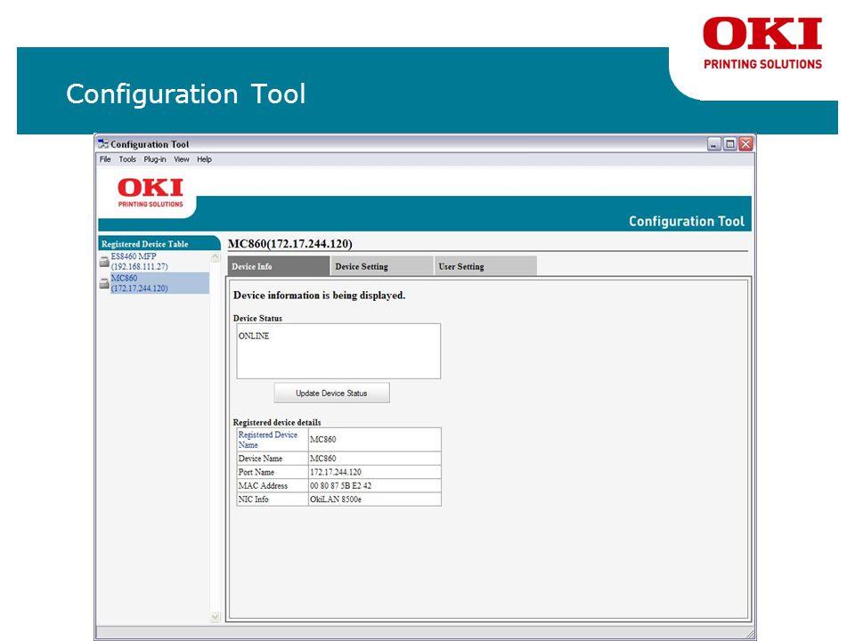 Configuration Tool 2