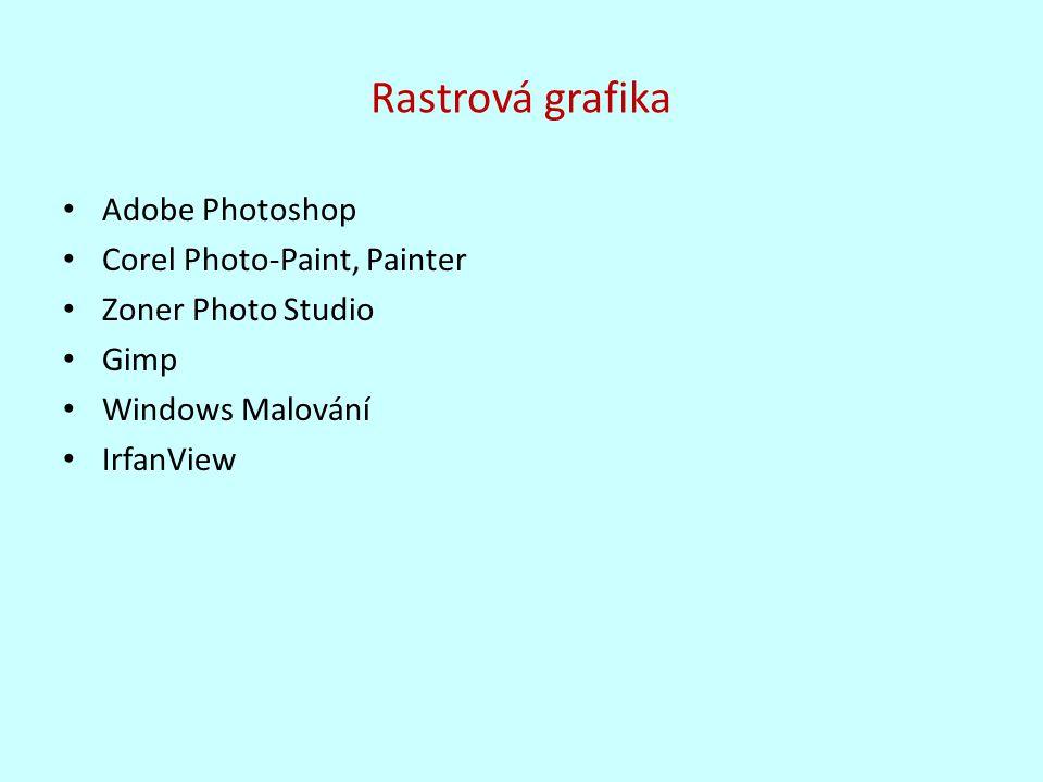 Adobe Photoshop Corel Photo-Paint, Painter Zoner Photo Studio Gimp Windows Malování IrfanView