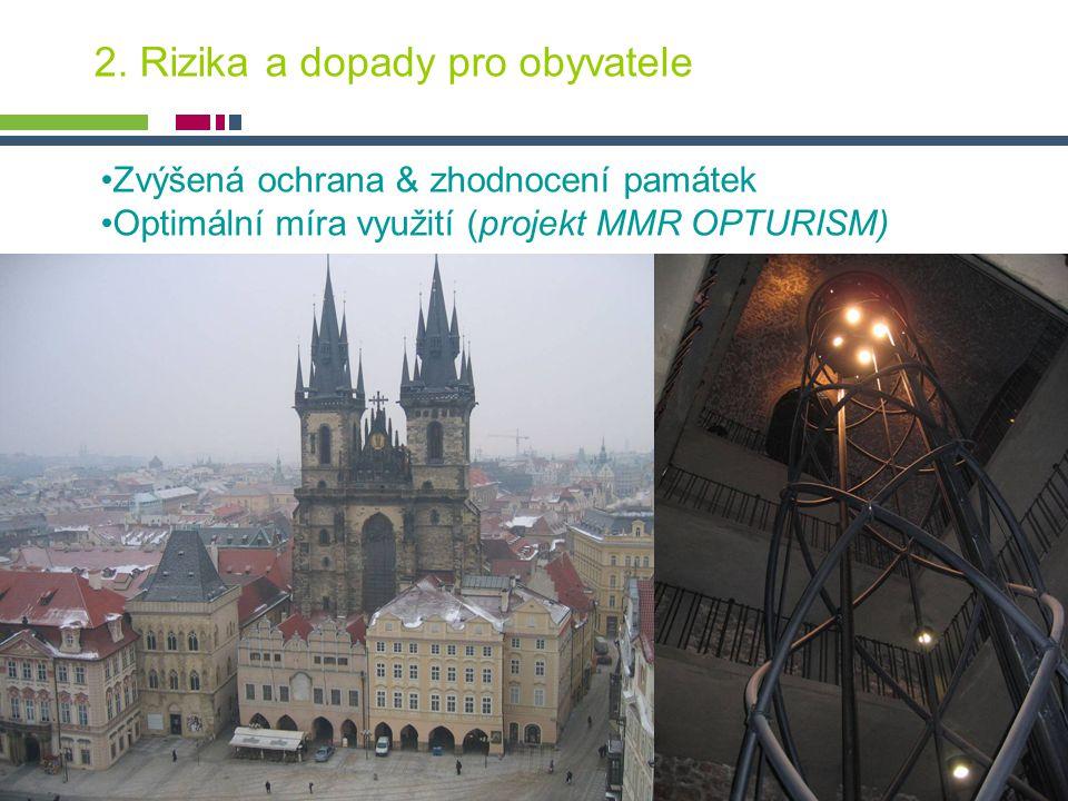 PICTURE ¬ Konference SHS ČMS – 20.října 2005 Tomáš Drdácký, ITAM 2. Rizika a dopady pro obyvatele Zvýšená ochrana & zhodnocení památek Optimální míra
