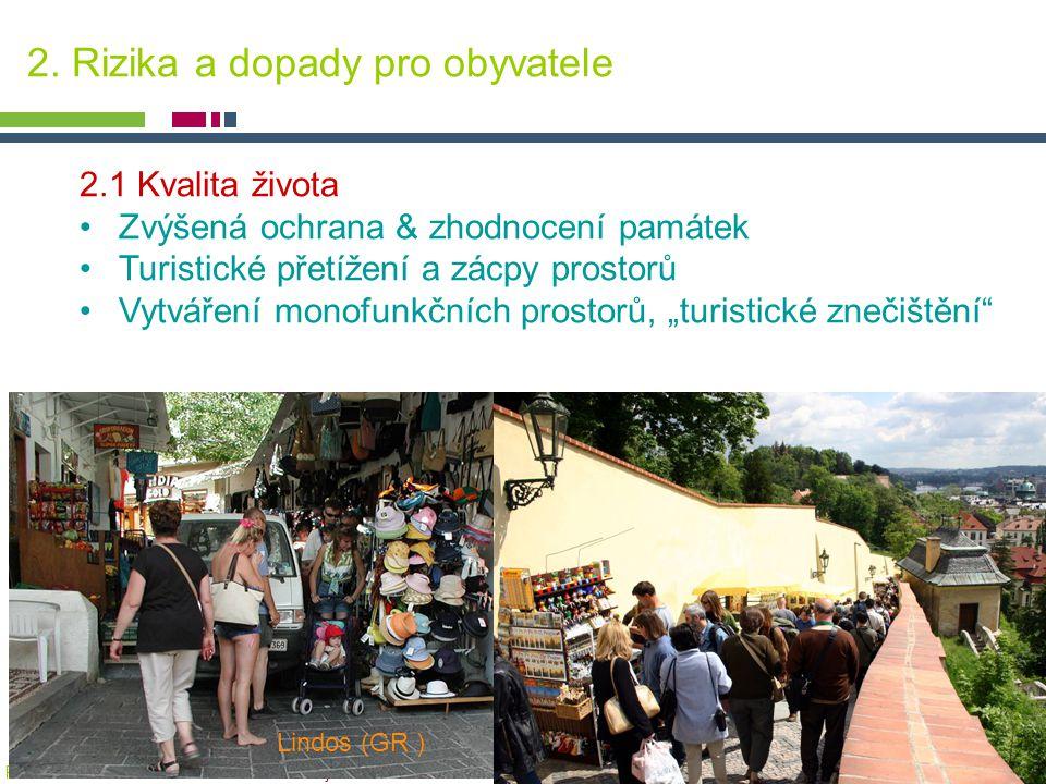 PICTURE ¬ Konference SHS ČMS – 20.října 2005 Tomáš Drdácký, ITAM 2. Rizika a dopady pro obyvatele 2.1 Kvalita života Zvýšená ochrana & zhodnocení pamá