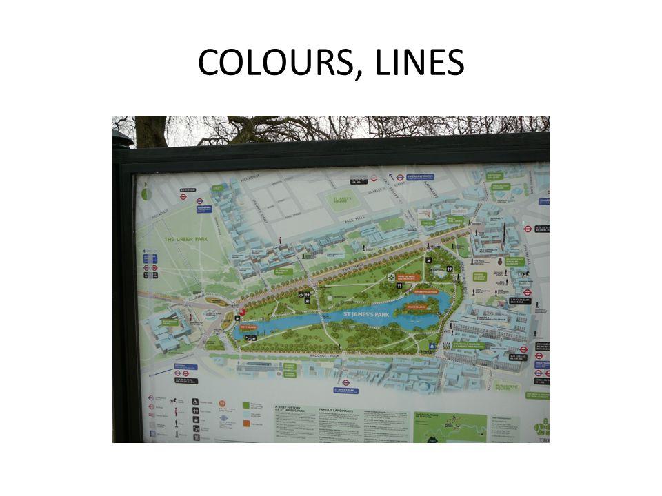 COLOURS, LINES