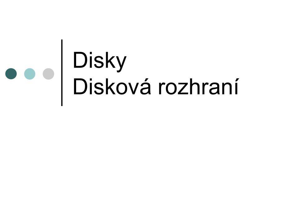 Disky Disková rozhraní