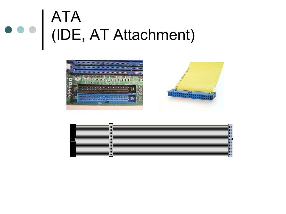ATA-1 Přenosové režimy: PIO (max.8,3MB/s) DMA (max.