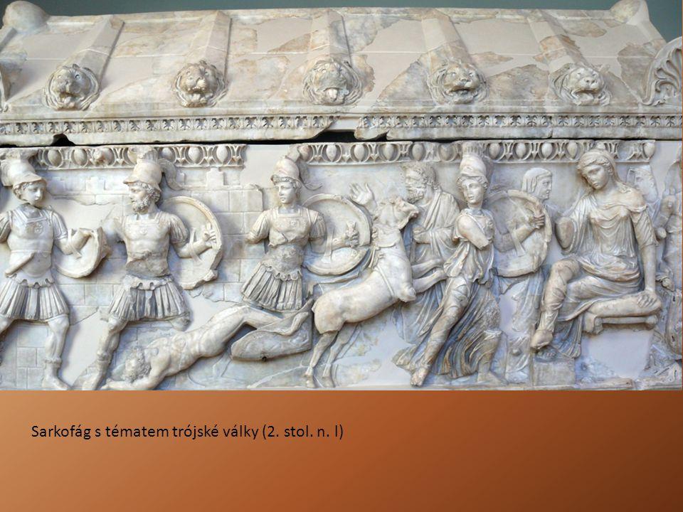 Sarkofág s tématem trójské války (2. stol. n. l)
