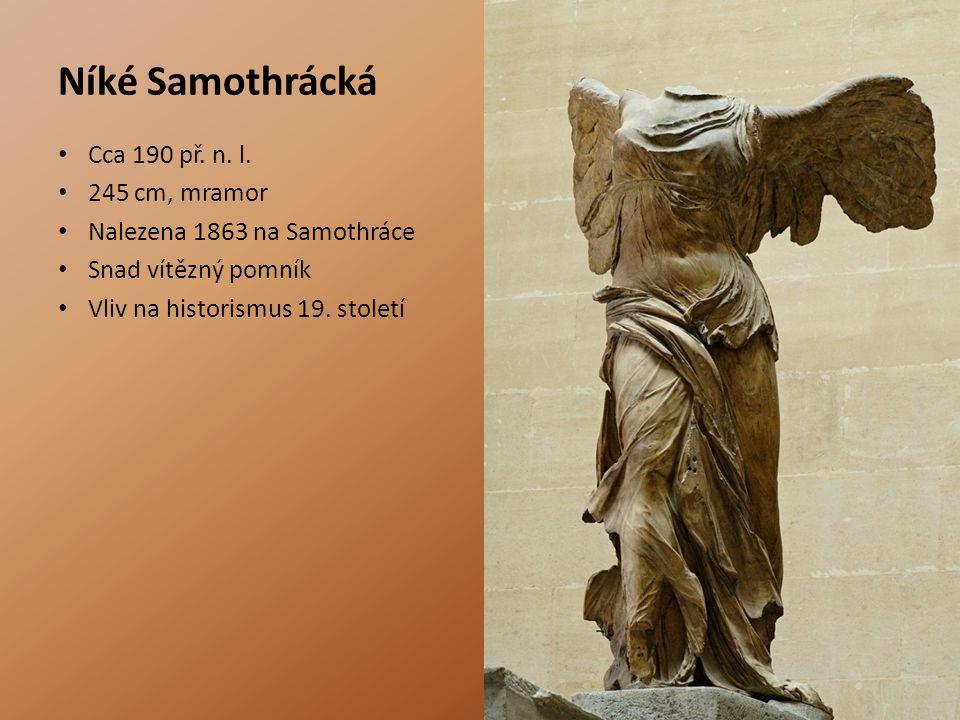 Níké Samothrácká Cca 190 př.n. l.