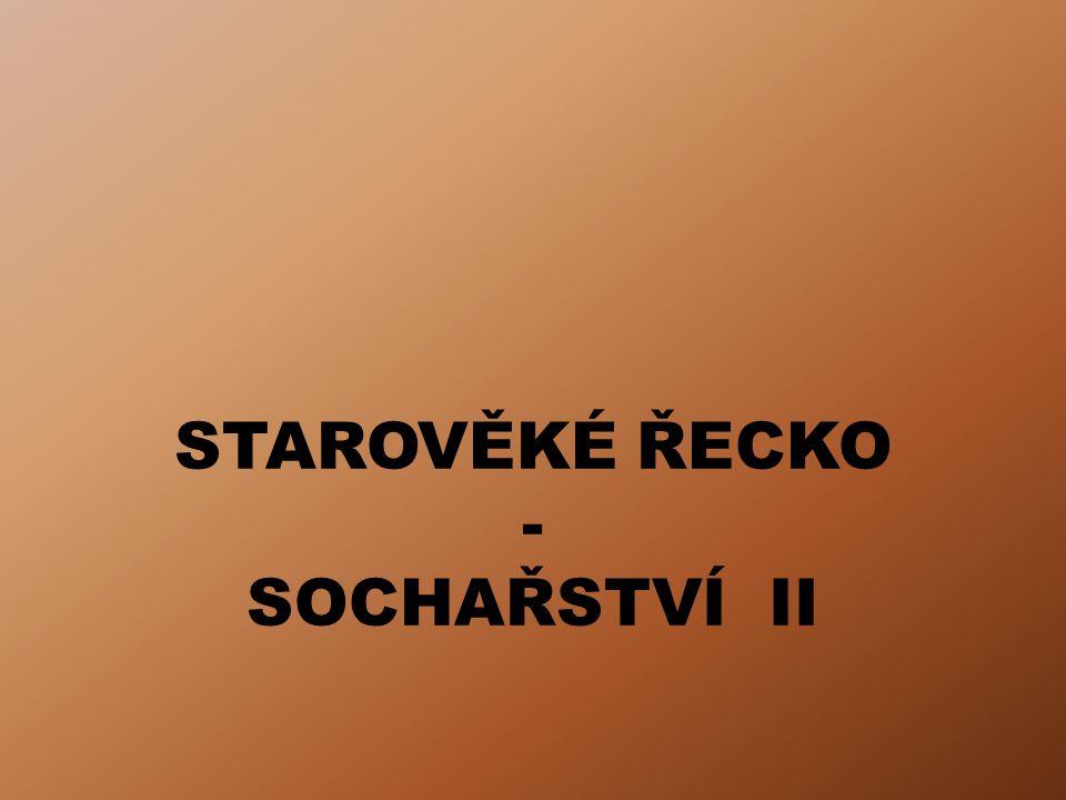 STAROVĚKÉ ŘECKO - SOCHAŘSTVÍ II