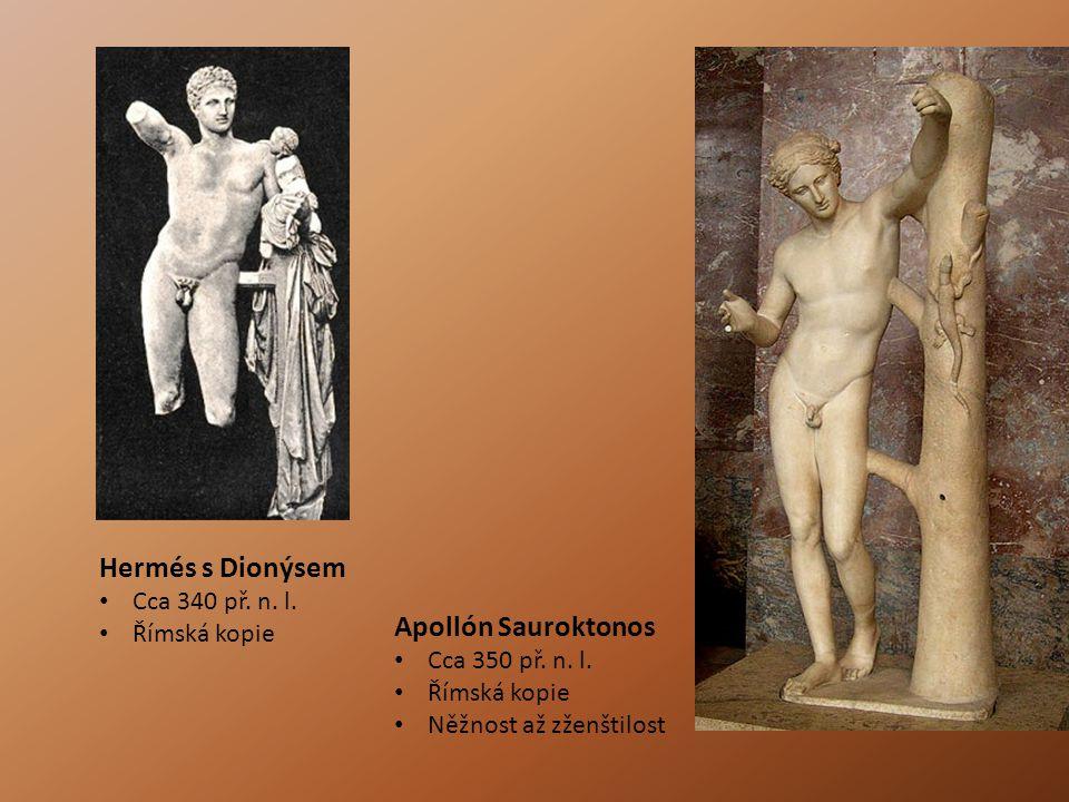 Apollón Sauroktonos Cca 350 př.n. l.
