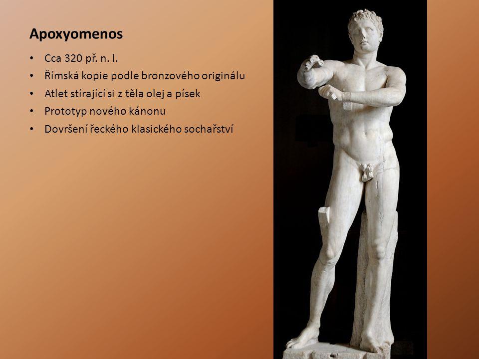 Apoxyomenos Cca 320 př.n. l.